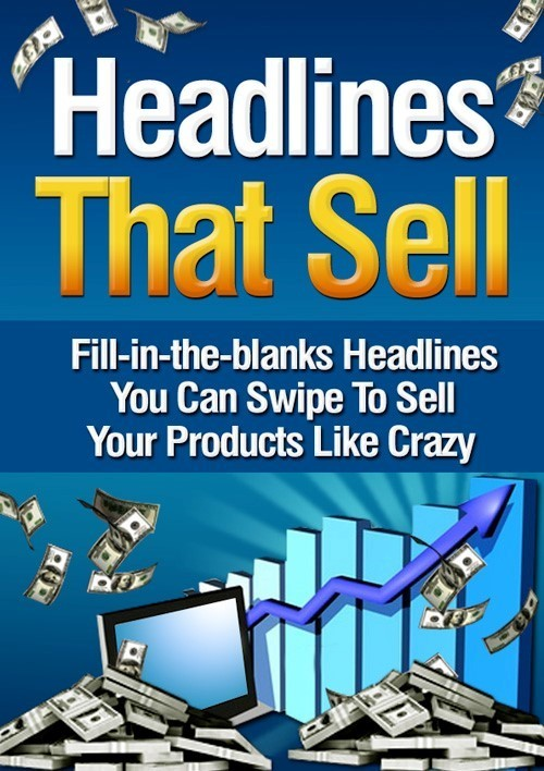 Product picture *Headlines That Sell* + MRR